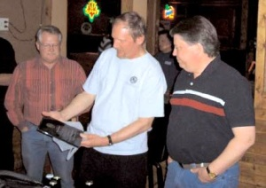 From Left to Right, SOBs Dick Waltenberry, Mike Engel and Steve Rehfeldt in 2004